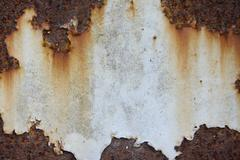Rust iron sheet Stock Photos