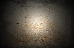 stone from the western wall - stock photo