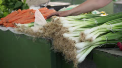 Onion & Carrot Stock Footage