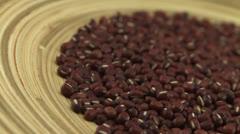 Azuki beans 1 Stock Footage