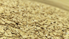 Oat flakes 2 Stock Footage