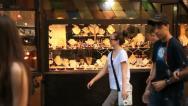 Stock Video Footage of Jewellery window, Florence