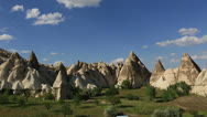 Stock Video Footage of cave house city at cappadocia