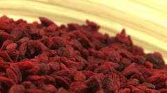 Goji berries 2 Stock Footage