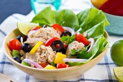 Tuna salad - stock photo