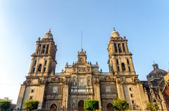 Mexico City Cathedral - stock photo