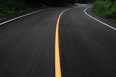 Curve road Stock Photos