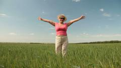 Finally Retired! - stock footage