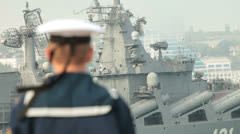 Naval forces Stock Footage