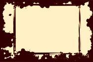 Grunge border frame Stock Illustration