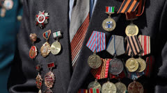 Medals 2 Stock Footage