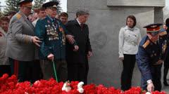Veterans of the Great Patriotic War   5 Stock Footage