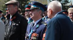 Veterans of the Great Patriotic War    Stock Footage