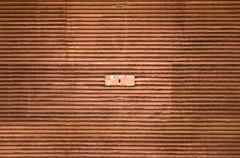 Rusty garage door Stock Photos