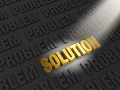 Stock Illustration of finding a solution