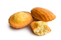 Stock Photo of madeleine cookies