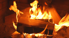 Flame burning Stock Footage