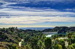 Lake Hollywood - stock photo