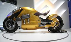 New suzuki at the autoexpo in delhi, india Stock Photos