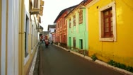 Stock Video Footage of GOA, INDIA - MARCH 2013: Old colonial architecture of Old Goa