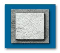 crumpled paper layer - stock photo