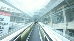 Charles de gaulle airport Stock Footage