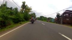 Road timelapse Stock Footage