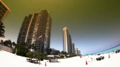 Miami Condos Stock Footage