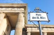 Stock Photo of platz des 18. marz