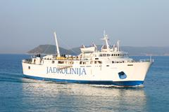 Stock Photo of passenger ferry boat