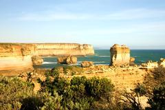 coastal scene - stock photo