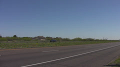 Speed limit in Texas 2 Stock Footage