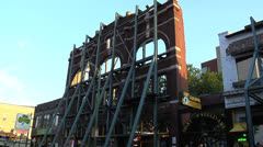 Silky O'Sullivans, Beale Street, Memphis Stock Footage