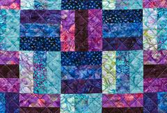 Quilting pattern Stock Photos
