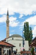 Mosque in sarajevo. Stock Photos