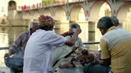 UDAIPUR, INDIA - APRIL, 2013: People playing cards by r_ver Stock Footage