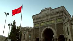 Istanbul University#1 Stock Footage