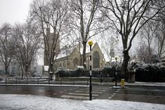 St mary's church, lambeth, england Stock Photos