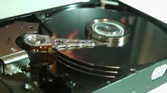 Computer hard disk drive Stock Footage