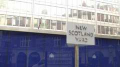 New Scotland Yard - stock footage