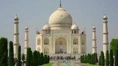 Taj Mahal, Agra, India - stock footage