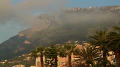 Monaco and Tete de Chien 01 - stock footage