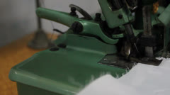 Sewing machine Stock Footage