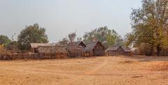 Village in burma Stock Photos