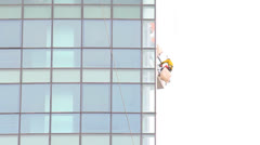 Construction, high building Stock Footage