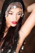 arabian beauty - stock photo