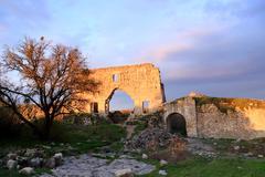 citadel, xiv-xviii centuries - stock photo