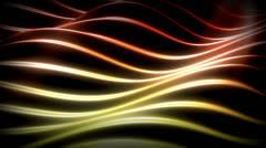 Stock Video Footage of Red Orange Yellow Flowing Backdrop Loop