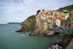 Riomaggiore, cinque terre, italy Stock Photos