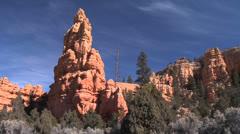 Bryce Canyon Entrance- Utah Stock Footage